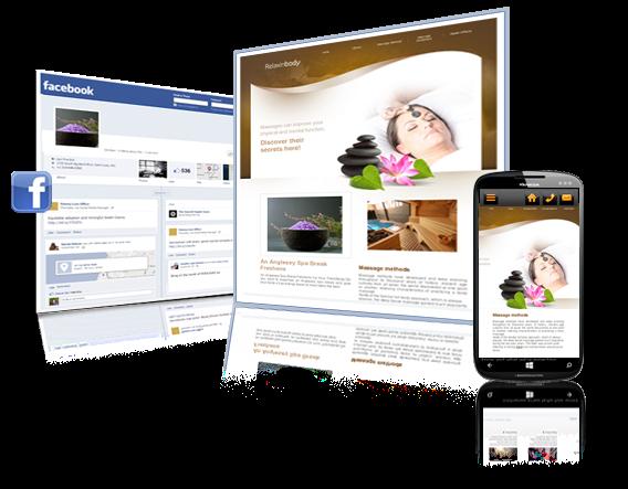 הפוך את דף הפייסבוק שלך לאתר אינטרנט ואתר סלולארי בחינם!
